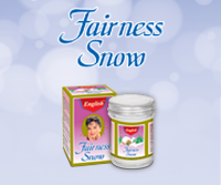 English Fairness Snow Cream