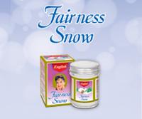 English Fairness Snow Cream